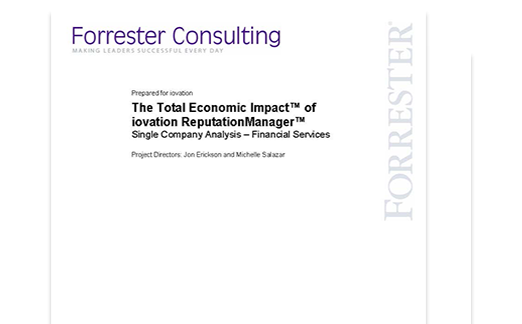 Forrester TEI impact study cover