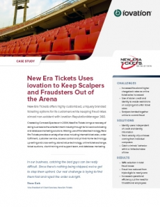 New Era Tickets Reduces Fraud by 98% preview
